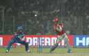 Mandeep Singh slaps over the off side, Delhi Capitals v Kings XI Punjab, IPL 2019, Delhi, April 20, 2019