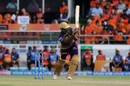Andre Russell flicks for six, Sunrisers Hyderabad v Kolkata Knight Riders, IPL 2019, Hyderabad, April 21, 2019