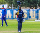 Aaron Jones pays homage to Chris Gayle after bringing up his maiden List A century for USA, Namibia v USA, WCL Division Two, Windhoek, April 21, 2019