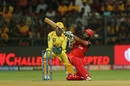Parthiv Patel slog sweeps, Royal Challengers Bangalore v Chennai Super Kings, IPL 2019, Bengaluru, April 21, 2019