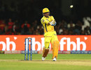 MS Dhoni swats one towards midwicket, Royal Challengers Bangalore v Chennai Super Kings, IPL 2019, Bengaluru, April 21, 2019