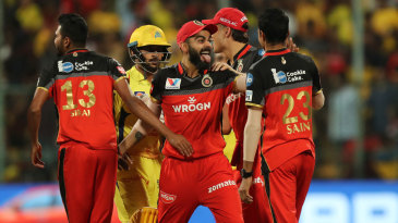 When you win a thriller, celebrate like Virat Kohli