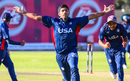 Saurabh Netravalkar's runout in the final over completed an Easter Sunday miracle win, Namibia v USA, WCL Division Two, Windhoek, April 21, 2019