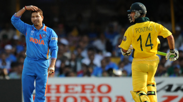 Sachin Tendulkar and Ricky Ponting are veterans of 45 and 46 World Cup matches, respectively