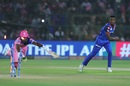 Kagiso Rabada runs Sanju Samson out with a direct hit, Rajasthan Royals v Delhi Capitals, IPL 2019, Jaipur, April 22, 2019