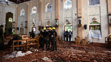 Sri Lanka was rocked by serial blasts on Easter Sunday
