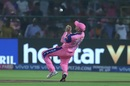 Ashton Turner fails to hold on to a skier, Rajasthan Royals v Delhi Capitals, IPL 2019, Jaipur, April 22, 2019