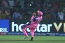 Ashton Turner fails to hold on to a skier, Rajasthan Royals v Delhi Capitals, IPL 2019, Jaipur, April 22, 2019