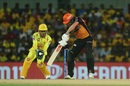 MS Dhoni collects the catch to dismiss Jonny Bairstow, Chennai Super Kings v Sunrisers Hyderabad, IPL 2019, Chennai, April 23, 2019