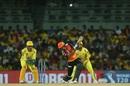 Manish Pandey lofts it out of the park, Chennai Super Kings v Sunrisers Hyderabad, IPL 2019, Chennai, April 23, 2019