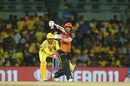 The world famous blink-and-you-miss-it Dhoni stumping, Chennai Super Kings v Sunrisers Hyderabad, IPL 2019, Chennai, April 23, 2019