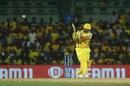 Suresh Raina unleashes a pull shot, Chennai Super Kings v Sunrisers Hyderabad, IPL 2019, Chennai, April 23, 2019