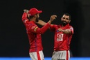 Mohammed Shami celebrates a wicket, Royal Challengers Bangalore v Kings XI Punjab, IPL 2019, Bengaluru, April 24, 2019