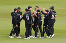 Morne Morkel is congratulated on a wicket, Surrey v Middlesex, Royal London Cup, South Group, The Oval, April 25, 2019
