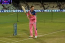 Steven Smith goes through his training routine, Kolkata Knight Riders v Rajasthan Royals, IPL 2019, Kolkata, April 25, 2019