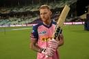 Ben Stokes has a pensive moment, Kolkata Knight Riders v Rajasthan Royals, IPL 2019, Kolkata, April 25, 2019