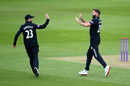 Liam Plunkett continued his return to wicket-taking form, Surrey v Middlesex, Royal London Cup, South Group, The Oval, April 25, 2019