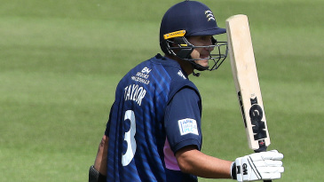Ross Taylor made a half-century on Middlesex debut