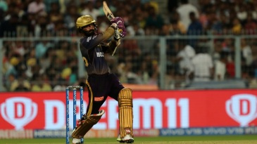 Dinesh Karthik goes for the big one