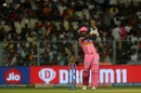 Ajinkya Rahane drives on the up, Kolkata Knight Riders v Rajasthan Royals, IPL 2019, Kolkata, April 25, 2019