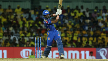 Hardik Pandya hits one straight