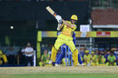 Mitchell Santner pulls, Chennai Super Kings v Mumbai Indians, IPL 2019, Chennai, April 26, 2019