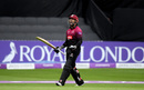 Peter Trego celebrates his hundred with a roar, Somerset v Essex, Royal London Cup, Taunton, April 26, 2019