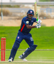 Hayden Walsh completes a wristy flick through midwicket, UAE v USA, Dubai, March 25, 2019