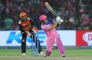 Liam Livingstone slog-sweeps powerfully, Rajasthan Royals v Sunrisers Hyderabad, IPL 2019, Jaipur, April 27, 2019