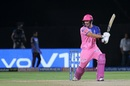 Liam Livingstone smashes one through the offside, Rajasthan Royals v Sunrisers Hyderabad, IPL 2019, Jaipur, April 27, 2019