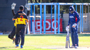 Norman Vanua bowled Jaskaran Malhotra for a golden duck to put himself on a hat-trick, Papua New Guinea v USA, WCL Division Two, 3rd place playoff, Windhoek, April 27, 2019