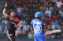 Umesh Yadav sent back Prithvi Shaw early, Delhi Capitals v Royal Challengers Bangalore, IPL 2019, Delhi, April 28, 2019