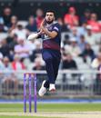 Saqib Mahmood, Lancashire v Northamptonshire, Royal London Cup, Old Trafford, April 24, 2019