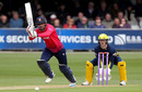 Ravi Bopara in batting action, Essex v Hampshire, Royal London Cup, Chelmsford, April 28, 2019