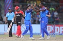 Kagiso Rabada picked up Parthiv Patel's wicket, Delhi Capitals v Royal Challengers Bangalore, IPL 2019, Delhi, April 28, 2019