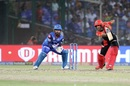 Gurkeerat Singh Mann drives, Delhi Capitals v Royal Challengers Bangalore, IPL 2019, Delhi, April 28, 2019