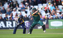 Steven Mullaney on his way to a half-century for Notts, Nottinghamshire v Yorkshire, Royal London One Day Cup, Trent Bridge, April 28, 2019