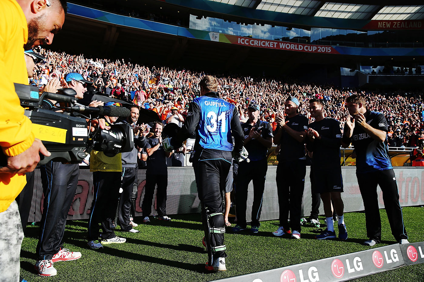 Martin Guptill's 237 took New Zealand to the 2015 World Cup semi-finals