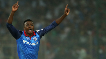Kagiso Rabada already has 23 wickets this IPL season, and could potentially top Dwayne Bravo's 32-wicket haul from IPL 2013