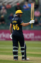Chris Cooke acknowledges his century, Gloucestershire v Glamorgan, Royal London Cup, South Group, Bristol, April 30, 2019
