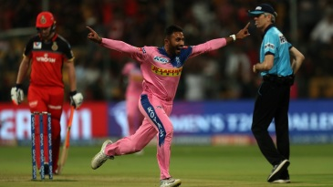 Shreyas Gopal picked up a hat-trick