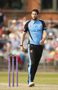Wayne Parnell of Worcestershire ready to bowl, Lancashire v Worcestershire, Royal London Cup, Old Trafford, April 17, 2019