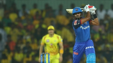 Shreyas Iyer thumps it over the off side