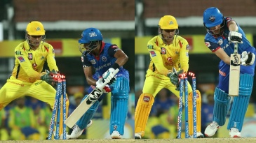 MS magic - Dhoni pulled off two outstanding stumpings within three balls, both off Ravindra Jadeja