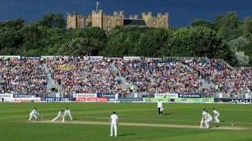 Lumley Castle, where Shane Watson was famously spooked in 2005, looms over the Ashes at the Riverside Ground in Chester-le-Street in Durham