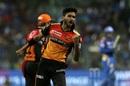 Khaleel Ahmed is pumped up, Mumbai Indians v Sunrisers Hyderabad, IPL 2019, Mumbai, May 2, 2019