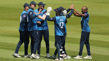 Daniel Bell-Drummond celebrates a breakthrough with the ball