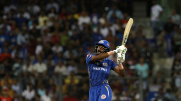 Hardik Pandya targets the leg side