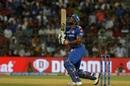 Kieron Pollard mistimes a pull, Mumbai Indians v Sunrisers Hyderabad, IPL 2019, Mumbai, May 2, 2019