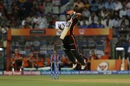 Wriddhiman Saha avoids a bouncer, Mumbai Indians v Sunrisers Hyderabad, IPL 2019, Mumbai, May 2, 2019